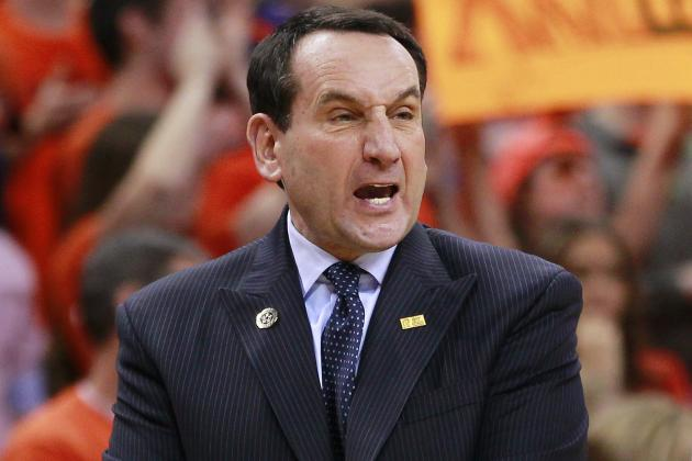 Coach K, Devils Confronted by Fans After Loss