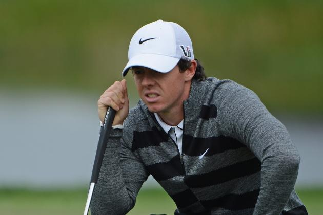 Rory McIlroy Walks off the Course in the Middle of a Terrible Round