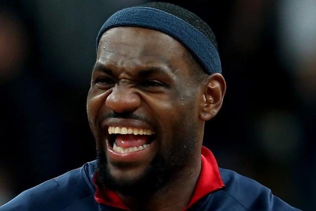 LeBron Is Rare Superstar Who Brings Proper Mix of Fun and Professionalism