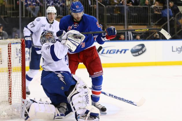 Lightning Look out of It in 4-1 Loss to Rangers