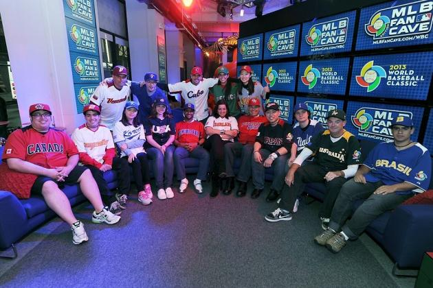 World Baseball Classic 2013: New York City's MLB Fan Cave Hosts Contest Winners