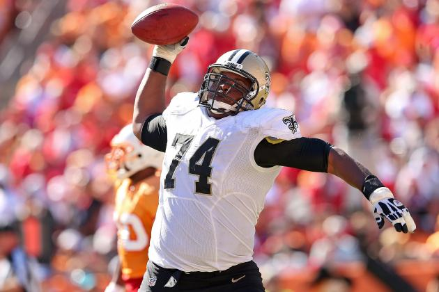 Report: Saints Focused on Re-Signing OT Jermon Bushrod