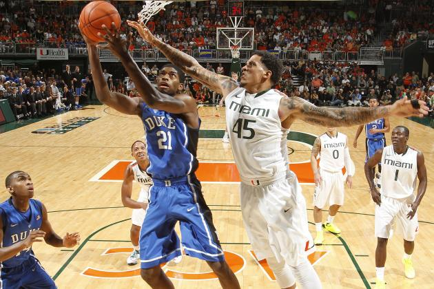 ACC Tournament 2013: Saturday's Duke-Miami Showdown Will Be Preview of Final