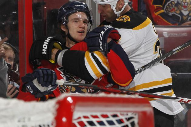 Florida Panthers' Jonathan Huberdeau Named February's Rookie of the Month