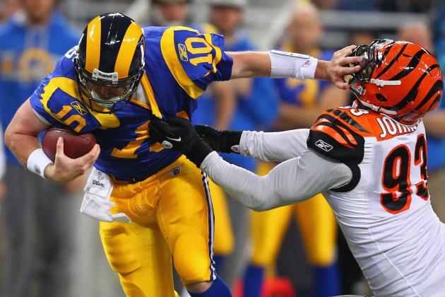 Report: Bengals to Franchise DE Michael Johnson