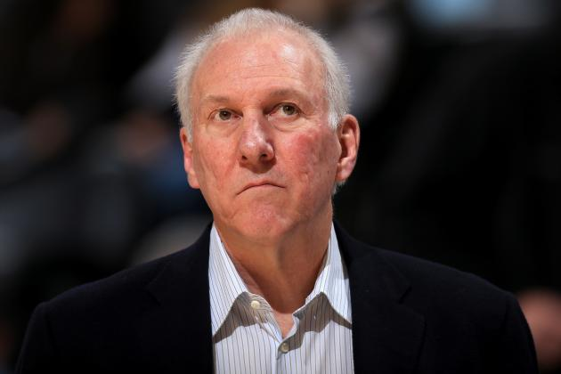 Popovich Says Olympic Gig Would Be an Honor