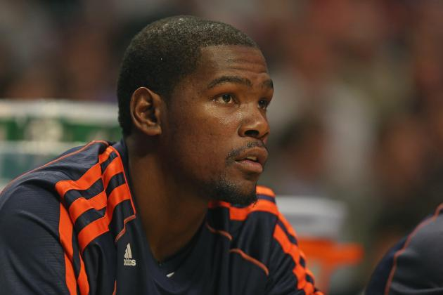 Kevin Durant Getting Plenty of Rest