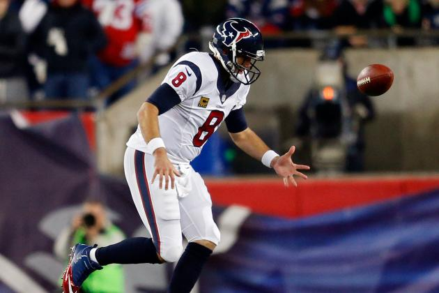 Houston Texans: Matt Schaub Is Not the Problem