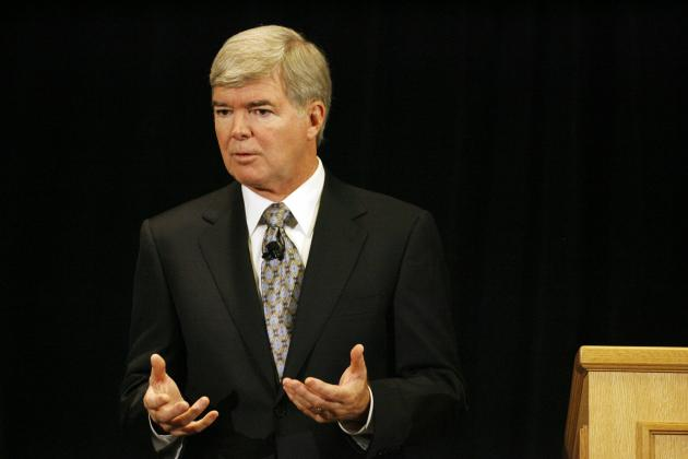 Mark Emmert Says Penn State's Sanctions Were 'by Design, by Intention'