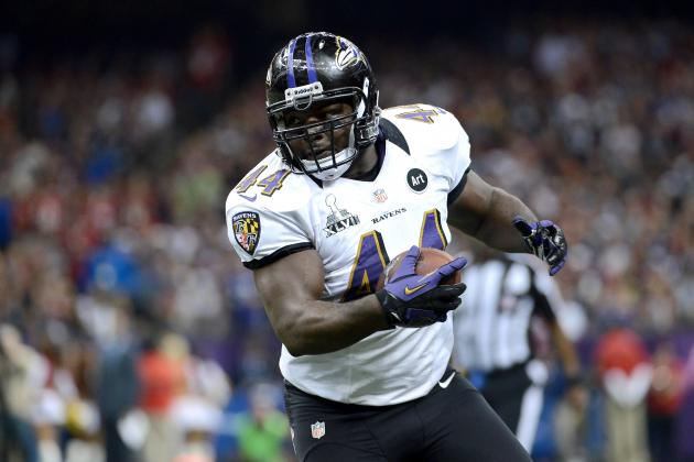 Could Vonta Leach Be a Baltimore Ravens Salary Cap Casualty?