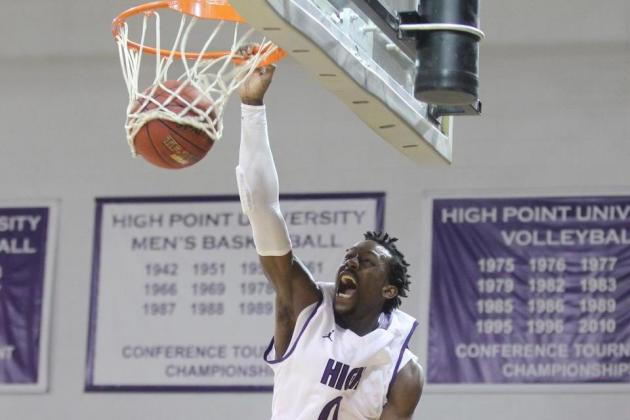 High Point Freshman John Brown Suffers Season-Ending Foot Injury