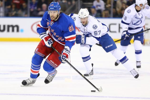 Nash Return Sparks Rangers to Snap Four-Game Losing Streak