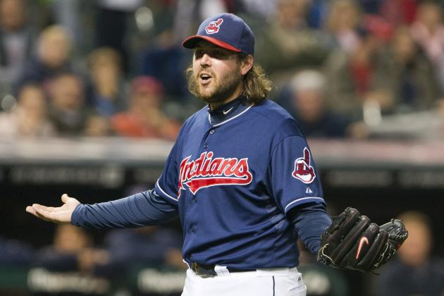Chris Perez out 3-4 Weeks with Sore Shoulder