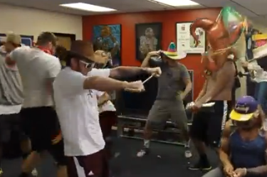 Former A&M WR Ryan Swope Attempts Harlem Shake…fails Many Times