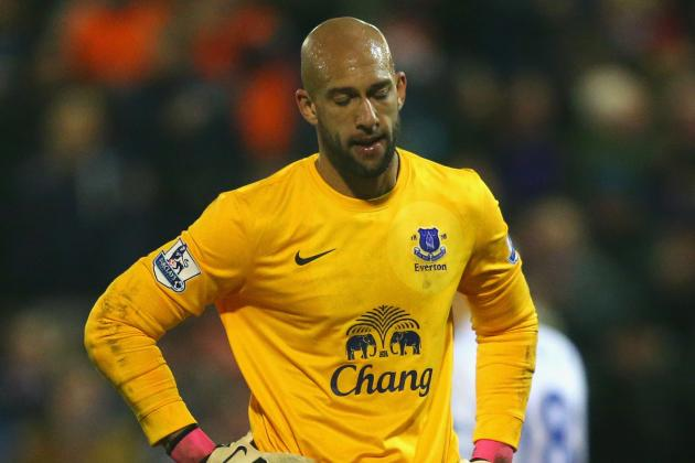 Tim Howard a Doubt for Everton Match Against Reading