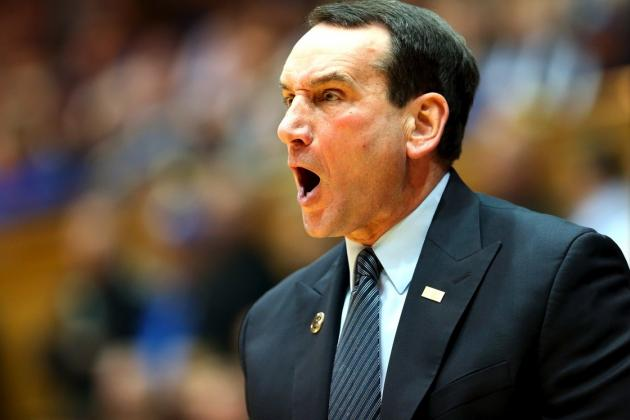 Coach K Is Right to Complain About Safety over Fans Storming the Floor