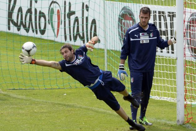 PSG's Sirigu Staking Claim as Italy's Next Great Keeper