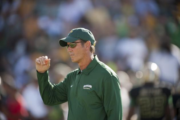 Baylor Coach Art Briles Uses Twitter to Show off How Hip He Is