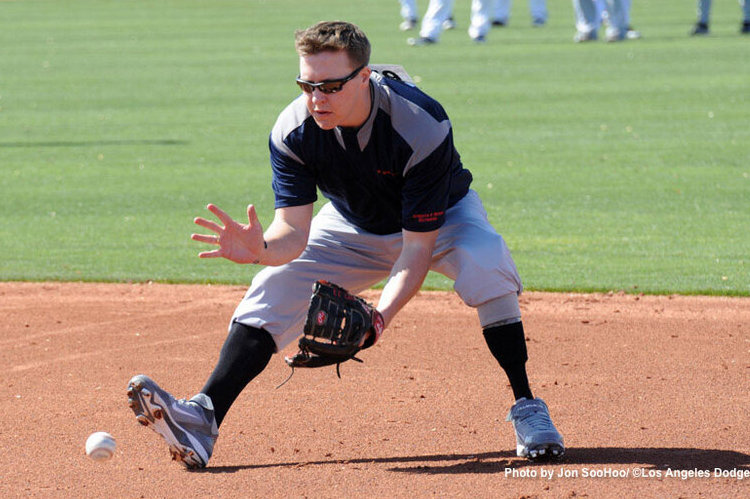 Los Angeles Dodgers Invite Military Veteran Who Lost Leg in Iraq to Open Tryout