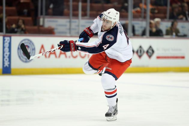 Blue Jackets Call Back Prout with Moore Hurting