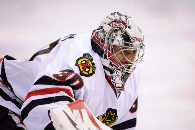 Corey Crawford 'Fine' but Emery Starting vs. Blue Jackets