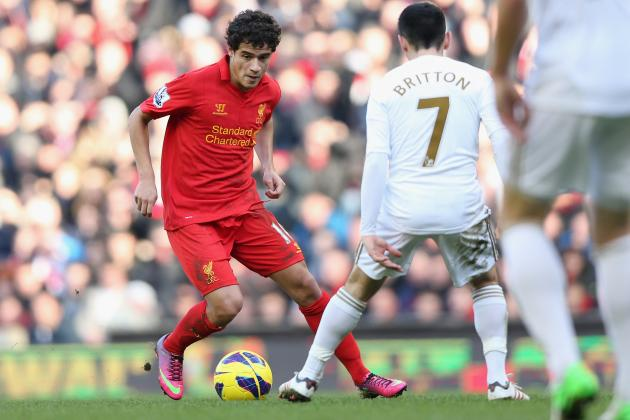 Philippe Coutinho Becomes 'a Proper Brazilian' for Liverpool