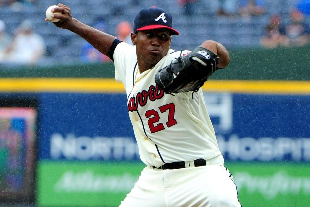 Julio Teheran Strikes out 5 and Walks None over 3 IP