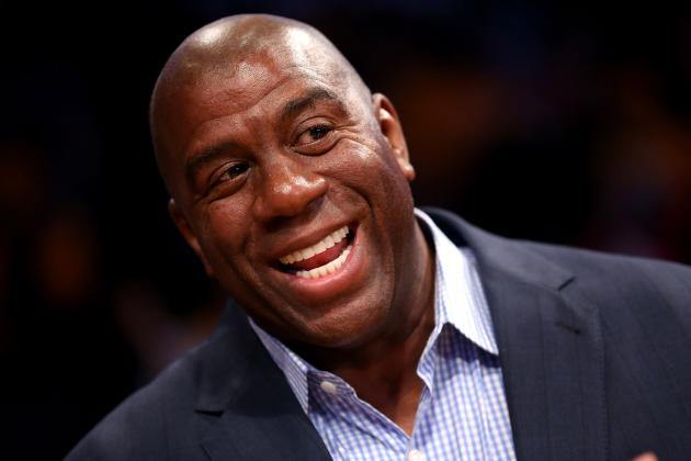 Magic Johnson Offers LeBron James $1 Million to Participate in Dunk Contest