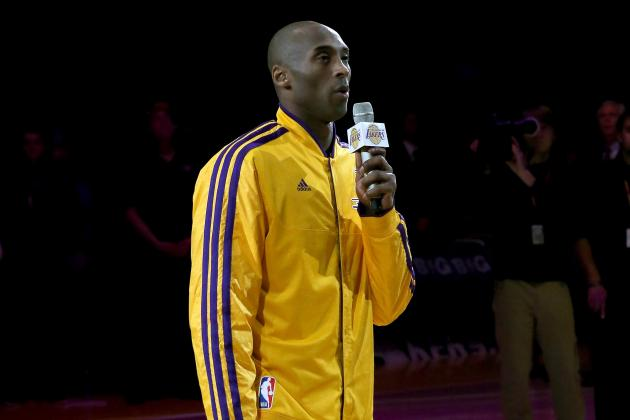 Kobe Bryant Named Western Conference Player of the Month for February