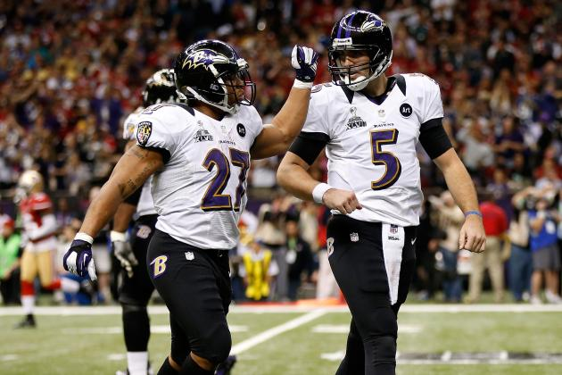 Teammates Congratulate Joe Flacco on Contract