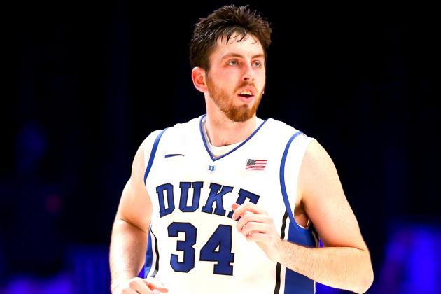 Report: Duke's Ryan Kelly Could Return for Showdown with Miami (FL)
