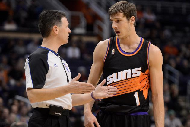 Dragic Doubtful to Return vs. Hawks Due to Bruised Back