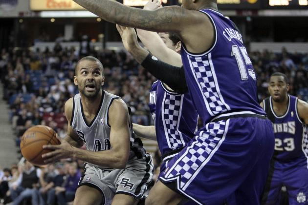 Spurs Beat Kings 130-102