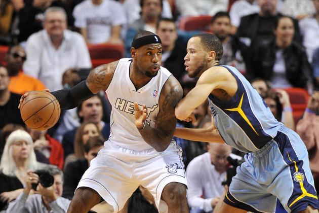 Wade, Heat Up Streak to 13, Cool off Grizzlies