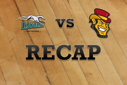 Loyola (MD) vs. Iona: Recap, Stats, and Box Score