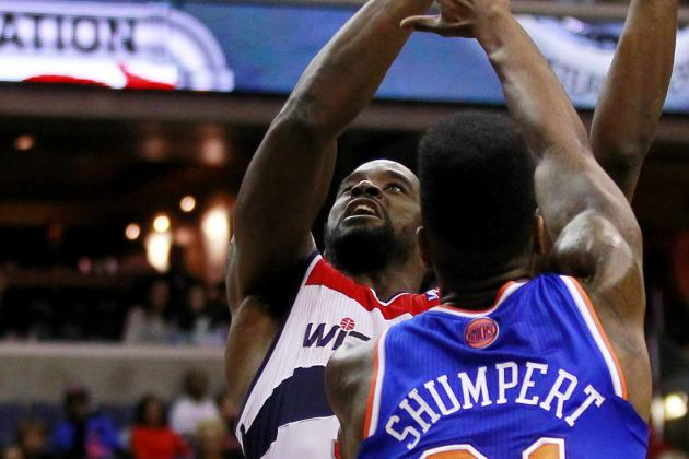 Knicks and Their New Starting Lineup Struggle but Ultimately Defeat Wizards
