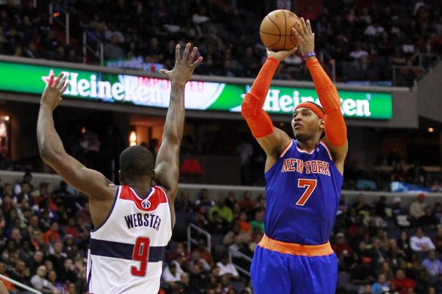 Anthony's 30 Points Help Knicks Beat 96-88