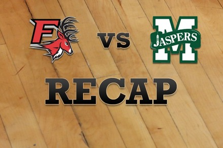Fairfield vs. Manhattan: Recap, Stats, and Box Score