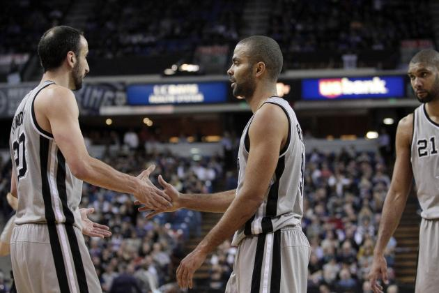 Spurs Nation  Spurs 130, Kings 102: Down Goes Parker