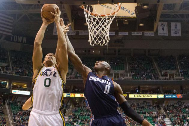 Kanter Leads Jazz Past Bobcats