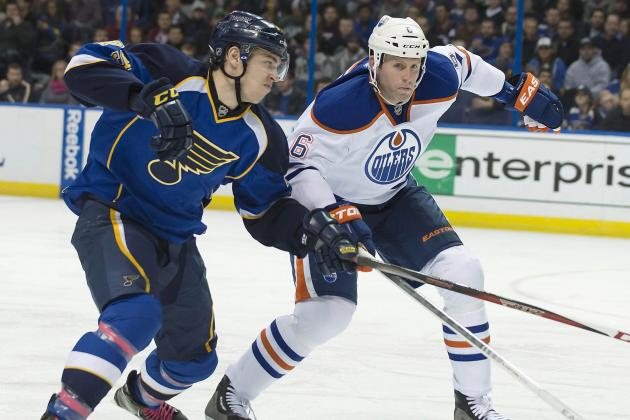 Sobotka's Go-Ahead Goal Rallies Blues by Oilers