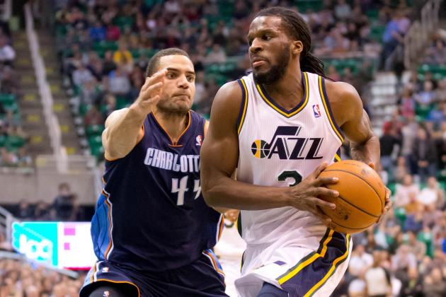 Jazz's Bench Steps Up vs. Bobcats