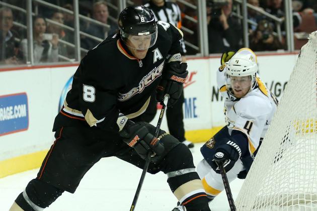 Selanne, Hiller Help Streaking Ducks Edge Wild
