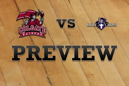 Colgate vs. Holy Cross: Full Game Preview