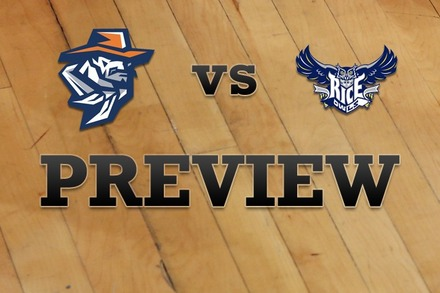 UTEP vs. Rice: Full Game Preview