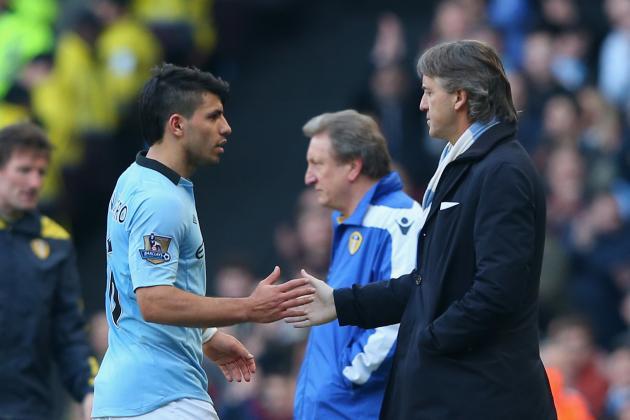 Defeat at Villa Would Be No Laughing Matter for Man City, Warns Mancini