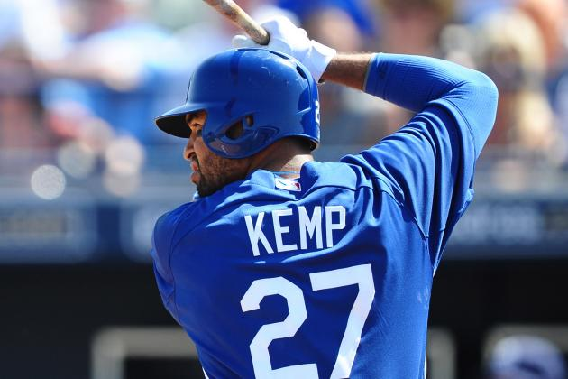 Matt Kemp Plays in First Spring Game as Dodgers Drop a Pair