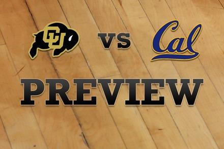 Colorado vs. California: Full Game Preview