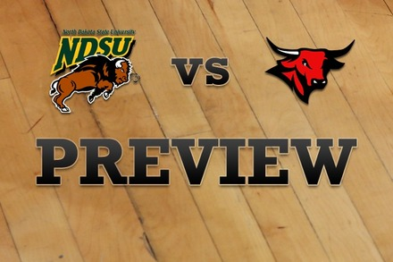 North Dakota State vs. Nebraska-Omaha: Full Game Preview