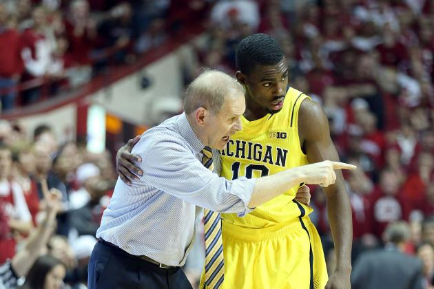 U-M's John Beilein Staying Positive with Players Despite Adversity